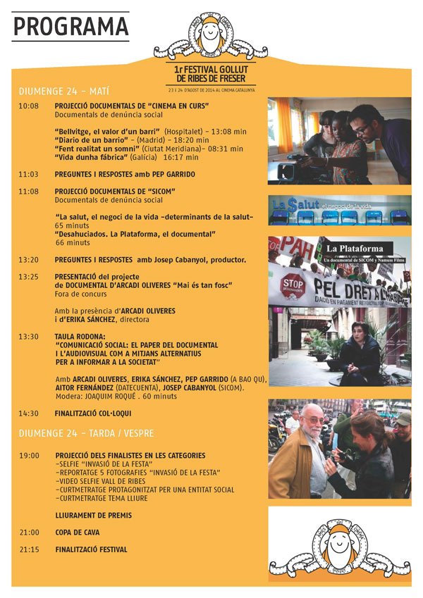 Programa primer festival Gollut 3